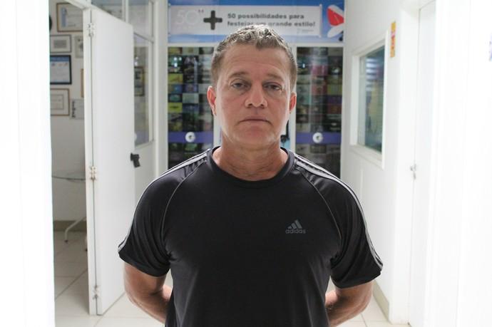 Neo Agostinho, técnico de Curaçá, Copa TV Grande Rio de Futsal (Foto: Emerson Rocha)