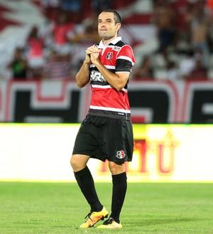 David Santa Cruz (Foto: Marlon Costa/Pernambuco Press)