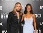 Zoe Saldana leva o marido à première de 'Star Trek: Sem fronteiras'