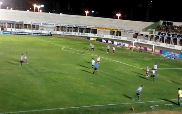 Potiguar de Mossoró x Treze, no Estádio Nogueirão, pela Copa do Nordeste (Foto: Fidel Nunes)