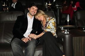 Claudia Leitte com o marido (Foto: Manuela Scarpa /Foto Rio News)