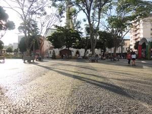Praça Viçosa (Foto: Assessoria Prefeitura Viçosa/Divulgação)