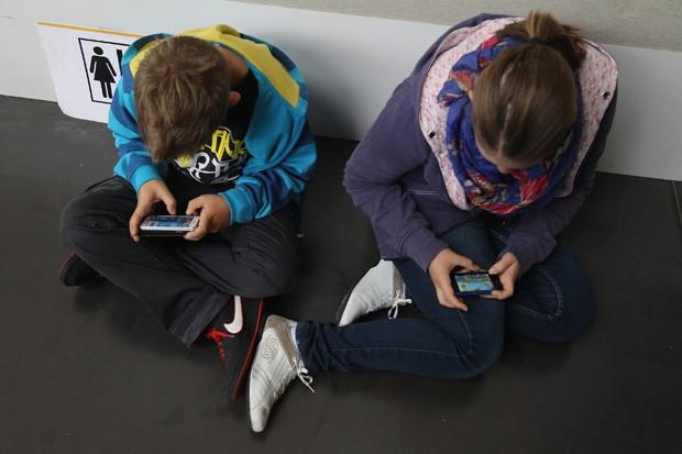 Crianças desconexas da realidade (Foto:  Sean Gallup/Getty Images)