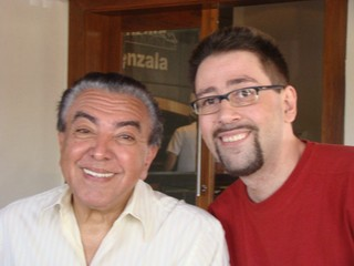 Mauricio de Sousa e o filho, Mauricio Spada (Foto: Reprodução / Facebook)