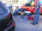 Dez pessoas ficam feridas em acidentes no Oeste catarinense
