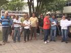 Produtores rurais fazem  protesto em frente a prefeitura de Boa Vista