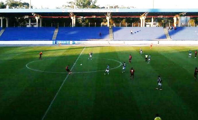 Martins Pereira TR Palmeiras Flamengo sub-20 (Foto: Felipe Kyoshy/ GloboEsporte.com)