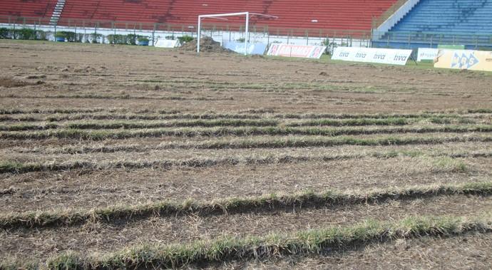Estádio Municipal obers Juiz de Fora (Foto: Bruno Ribeiro)