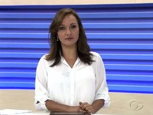 Liara Nogueira apresenta o Bom Dia Alagoas  (Foto: Reprodução/TV Gazeta)