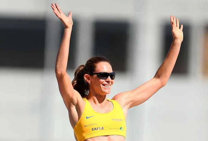 Fabiana Murer Troféu Brasil de Atletismo (Foto: Wagner Carmo/CBAt)