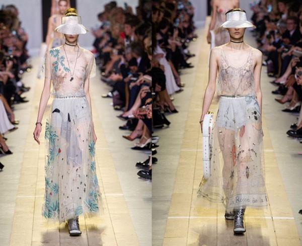 Desfile da Dior - verão 2017 (Foto: Imaxtree)