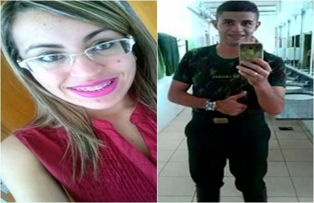 Irmãos Brenda e Diego foram mortos a tiros dentro de casa, em Luziânia, Goiás (Foto: Reprodução/TV Anhanguera)