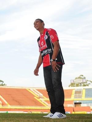 Edigar Junio atacante Joinville (Foto: Cleber Gomes/Agência RBS)