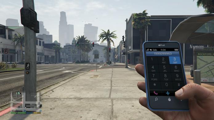 GTA V: aprenda a fazer todos os cheats do game pelo smartphone (Foto: Reprodução/Murilo Molina)