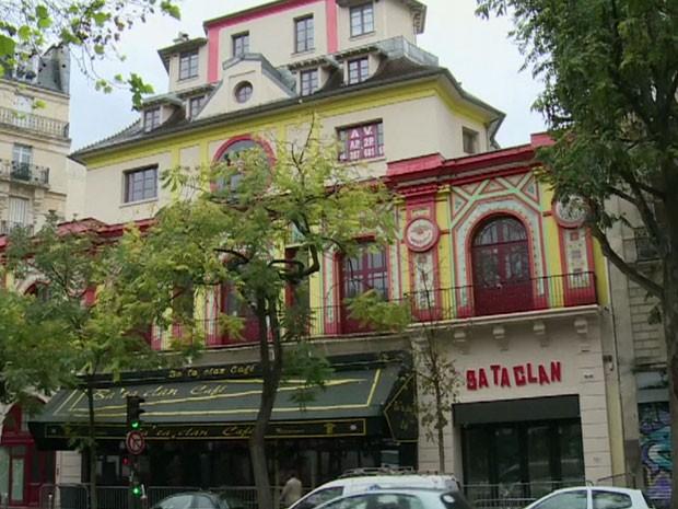 GNEWS - Bataclan reabre quase um ano depois dos ataques de Paris (Foto: Reprodução GloboNews)