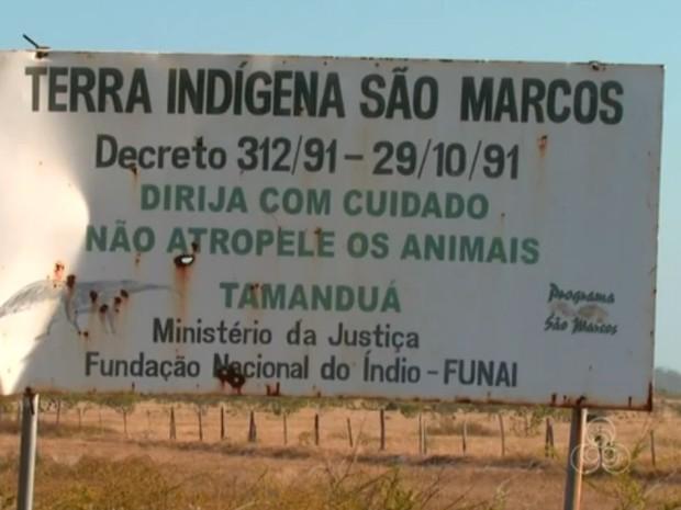 Município de Pacaraima está naTerra indígena de São Marcos (Foto: Reprodução/TV Roraima)
