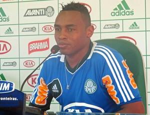 Coletiva Obina no Palmeiras (Foto: Diego Ribeiro / Globoesporte.com)