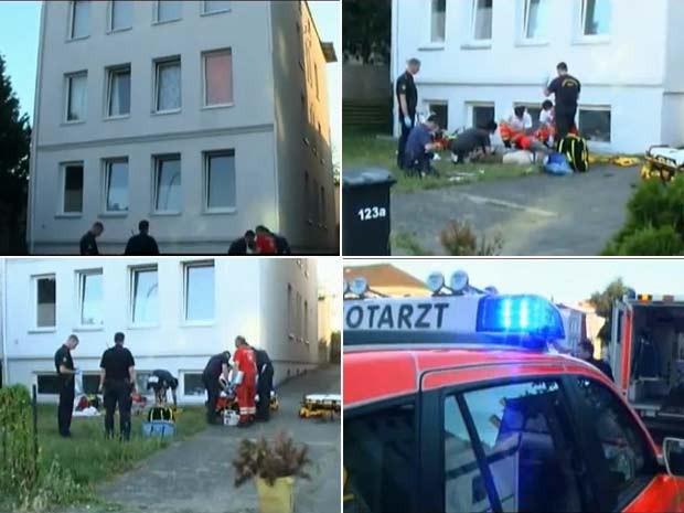 Casal de amantes cai da janela enquanto fazia sexo na Alemanha (Foto: Reprodução)