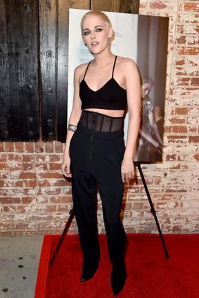 Kristen Stewart em première em Los Angeles, nos Estados Unidos (Foto: Frazer Harrison/ Getty Images/ AFP)