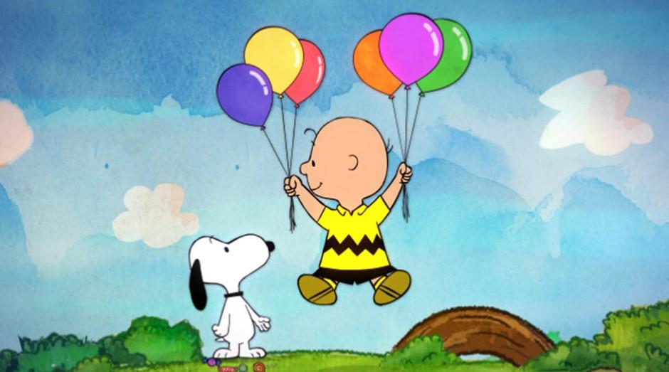 Os personagens Snoopy e Charlie Brown: fim da parceria com a Metlife (Foto: Reprodução/Vimeo)