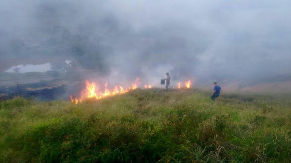 Defesa Civil de Miracema, no RJ, lança campanha para coibir incêndios | RJ / Norte Fluminense | G1