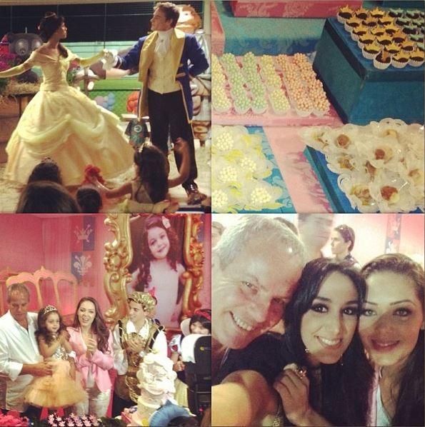 Festa de Maysa, filha de Jayme Monjardim e Tânia Mara (Foto: Reprodução/Instagram)
