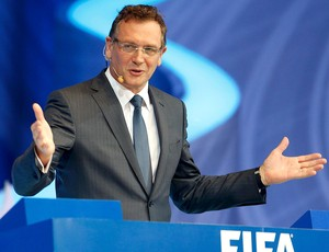Jerome Valcke sorteio Copa do Mundo (Foto: Reuters)