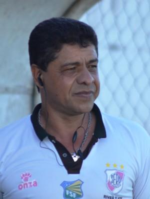 Reginaldo Ramos aprova 1º teste do River Plate (Foto: Thiago Barbosa/GLOBOESPORTE.COM)