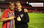 """Maior garçom, Aloísio quer """"danone"""" com Ceni: """"Preferia gol dele a um meu"""" (GloboEsporte.com)"""