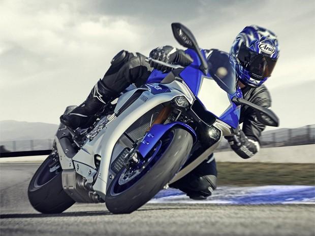Yamaha YZF-R1 2015 (Foto: Divulgação)