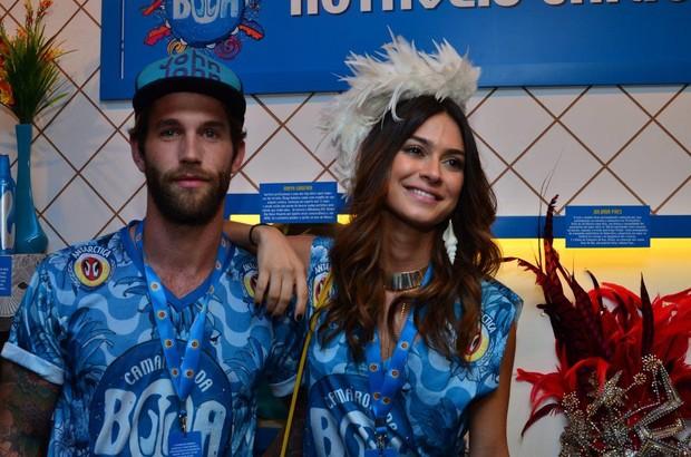 Thayla Ayala e Andre Hamann (Foto:  Luciana Monteiro Felipe Panfili Erbs Junior  / AgNews)