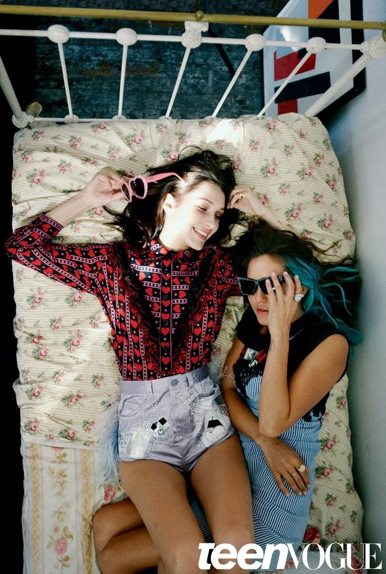 Bella Hadid (Foto: Teen Vogue/Reprodução)