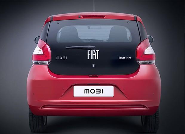 Traseira do Fiat Mobi (Foto: Reprodução)