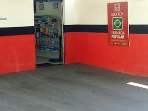 Bandido fugiu com R$ 200 do estabelecimento, que fica no Jardim Itapura I (Foto: Mariane Peres/G1)