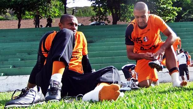 Tiago Cardoso e Fernando Gaúcho - Santa Cruz (Foto: Divulgação/Santa Cruz)