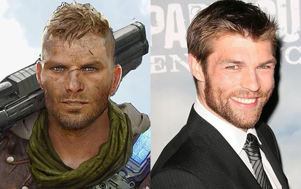 JD Fenix é filho de Marcus Fenix e novo protagonista de 'Gears of War 4'. Ele é dublado pelo ator Liam McIntyre (Foto: Divulgação/Game Informer)