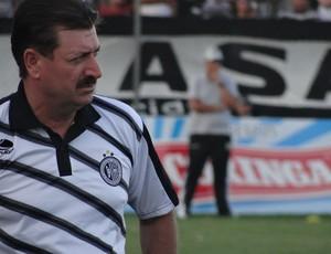 Técnico do ASA - Leandro Campos (Foto: Leonardo Freire/GLOBOESPORTE.COM)
