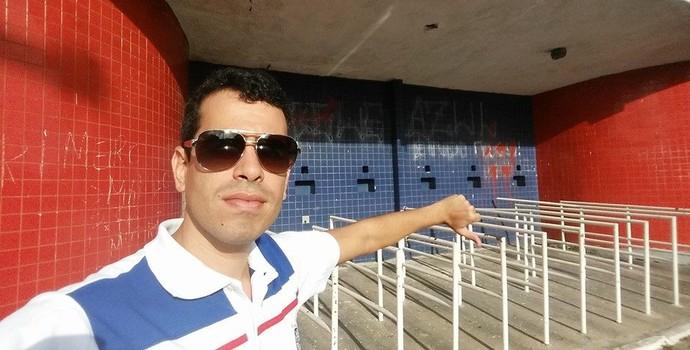 Marcelo Sant'Ana presidente do Bahia (Foto: Reprodução / Facebook)