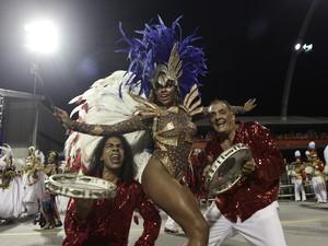 A Pérola Negra conseguiu voltar ao grupo especial depois de conquistar o título no acesso do ano passado (Foto: Flavio Moraes/G1)