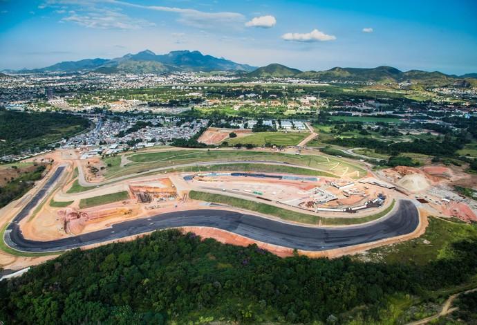 Circuito de canoagem Rio 2016 obras (Foto: Renato Sette Camara/Prefeitura do Rio)