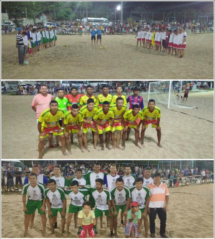Campeonato Potiguar Beach Soccer Galinhos Nova Cidade (Foto: Divulgação)