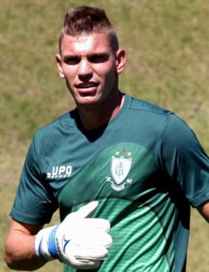 João Ricardo, goleiro do América-MG (Foto: Divulgação/América FC)