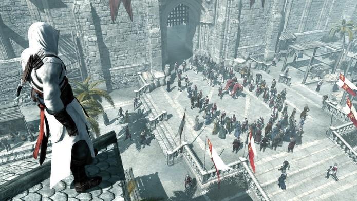 O primeiro Assassins Creed também tem seu charme (Foto: Divulgação/Ubisoft)