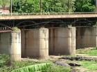 Ponte que liga distrito de Valença a Vassouras é interditada novamente