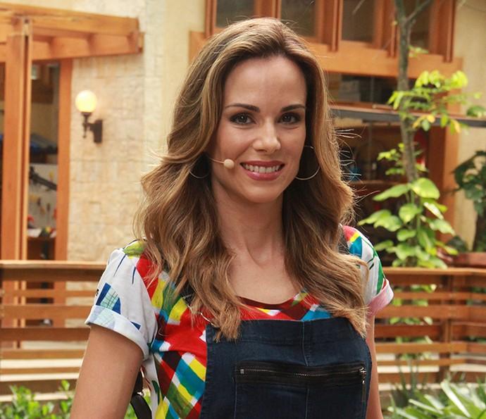 As mechas de Ana Furtado são sucesso!!! (Foto: Monique Salgueiro / Gshow)