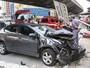 SP - 18h: Colisão deixa feridos na Rua do Glicério, na Liberdade