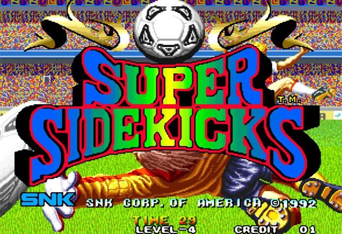 Super Sidekick foi um famoso jogo de futebol nos fliperamas (Foto: Divulgação)