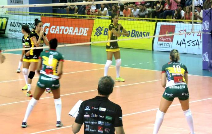Rio do Sul x Vôlei Bauru, Superliga feminina (Foto: Fábio Barbosa / Vôlei Bauru)