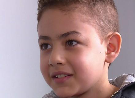 'Caldeirão' realiza sonho de menino que fez transplante de coração