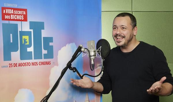 Danton Mello empresta sua voz ao cachorro Max na animação que estreia nesta quinta-feira (25) (Foto: Divulgação)
